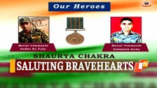 Two Martyrs Of Odisha Police Conferred With Shaurya Chakra On Independence Day Eve
