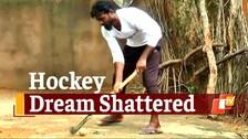 Former Odisha Hockey Player Now A Daily Wage Labourer