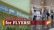 Odisha: Fresh Guidelines For Air Passengers Landing At Bhubaneswar Airport