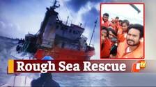 Daring Rescue: Coast Guard, Indian Navy Rescue 9 Fishermen