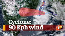 Cyclone Heading Towards South Odisha & Andhra