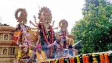 Durga Puja 2020: Idol Immersion Ceremony To Be A Low-Key Affair In Twin City This Year