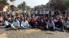 Farmers stage road blockade over delay in paddy procurement