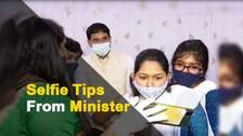 Odisha Minister Arun Sahoo Shares Photography Tips With Rama Devi Students