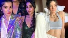 Janhvi Kapoor, Shanaya Kapoor Belly Dancing Face Off | Watch