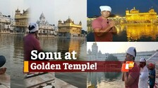 Bollywood Actor Sonu Sood Spotted At 'Golden Temple' In Amritsar