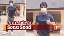 Sonu Sood Meets The Needy Outside His Residence; Extends Help